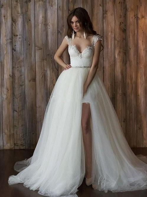 Vestido De Noiva 2 em 1 Divulgar