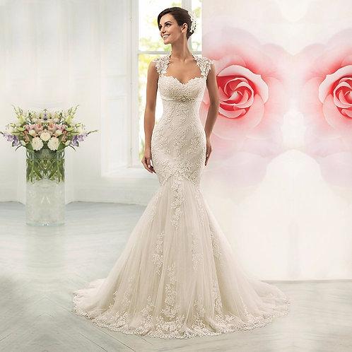 Vestido De Noiva Sereia Voga