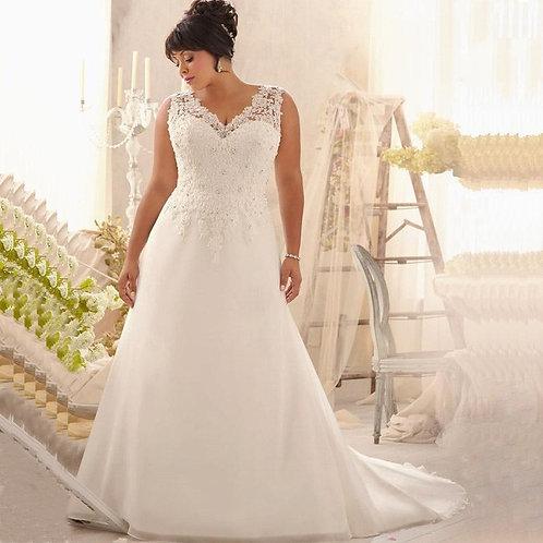 Vestido De Noiva Plus Size Determinada