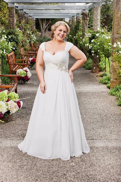 Vestido De Noiva Plus Size Beleza