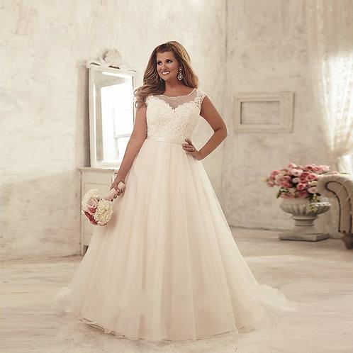 Vestido De Noiva Determinação Plus Size