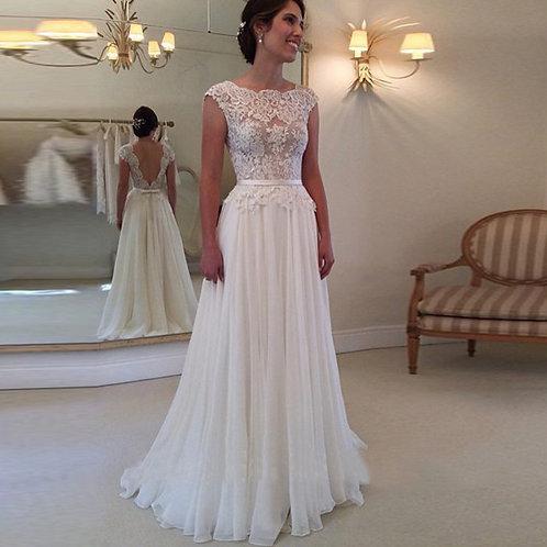 Vestido De Noiva Para Casamento No Campo Insinuante