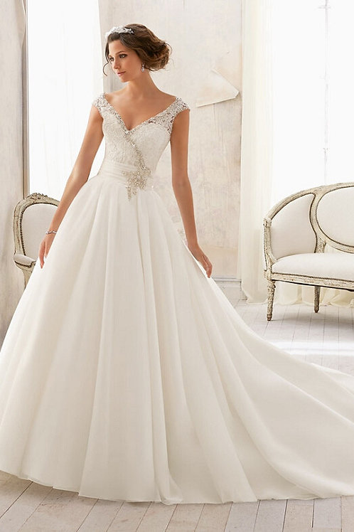 Vestido De Noiva Basílica Sem Costas