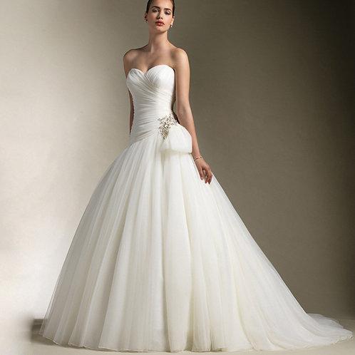 Vestido De Noiva Exorbitante Tomara Que Caia