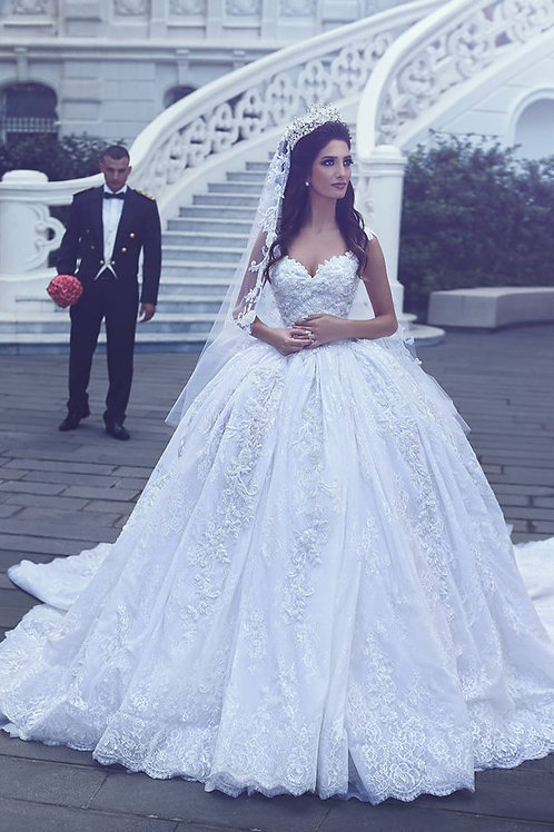 Vestido De Noiva Princesa Evidente