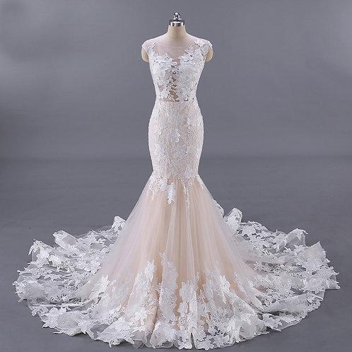 Vestido De Noiva Sereia Gala Off White