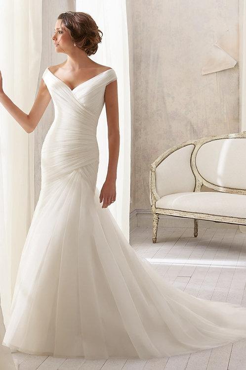 Vestido De Noiva Maravilhosa Sereia