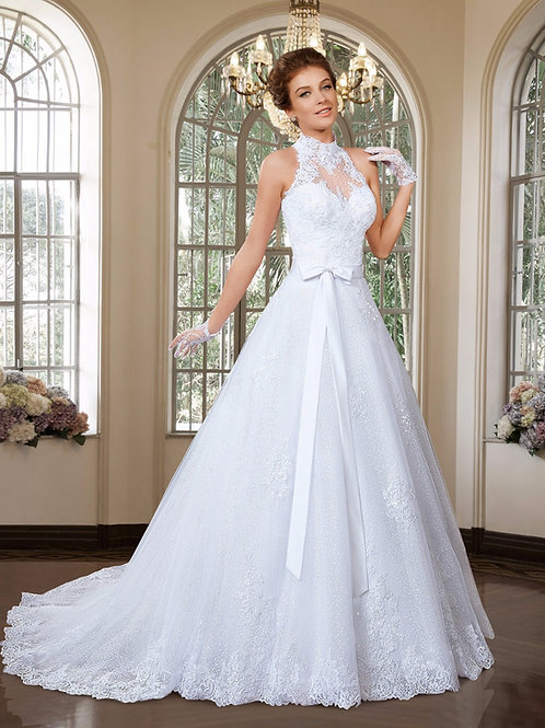 Vestido de Noiva 2 em 1 Glamour
