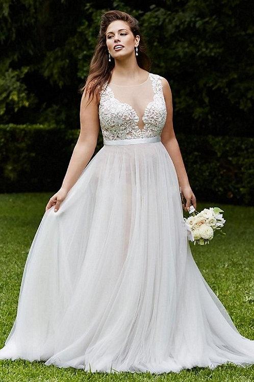 Vestido De Noiva Plus Size Unica