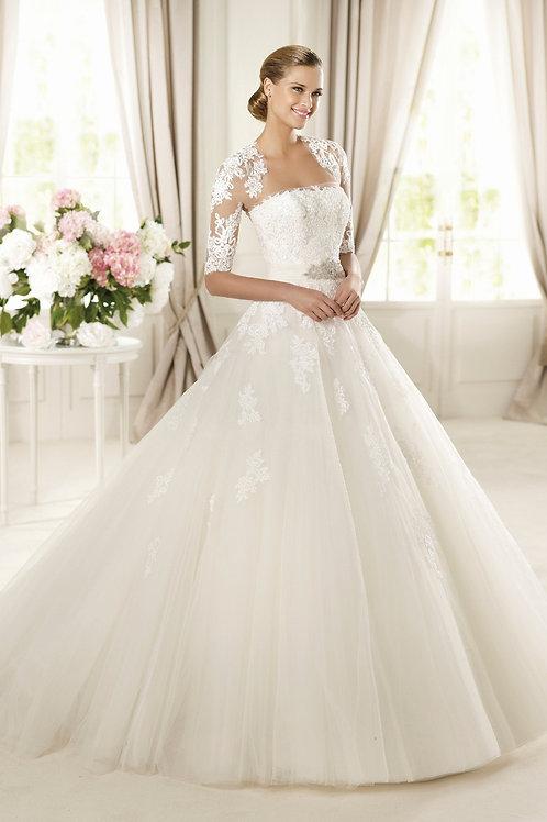 Vestido De Noiva Magnetismo TQC Com Jaqueta