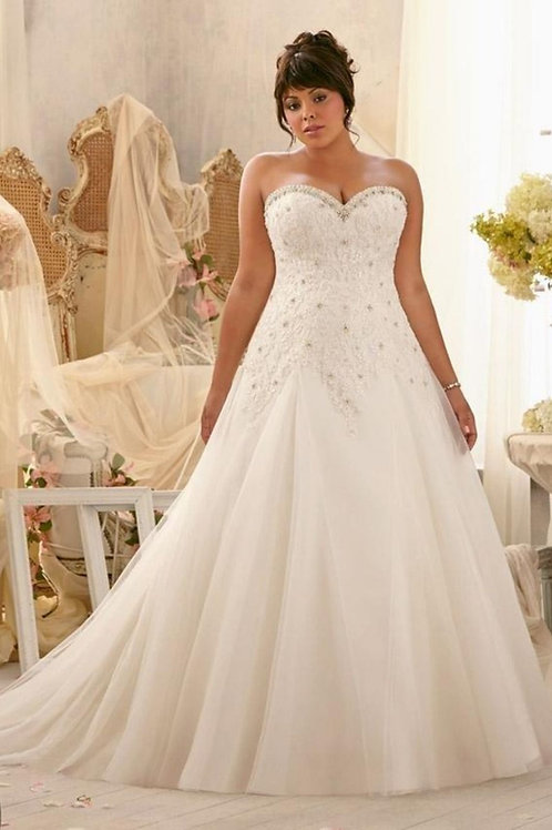 Vestido De Noiva Plus Size Insigne