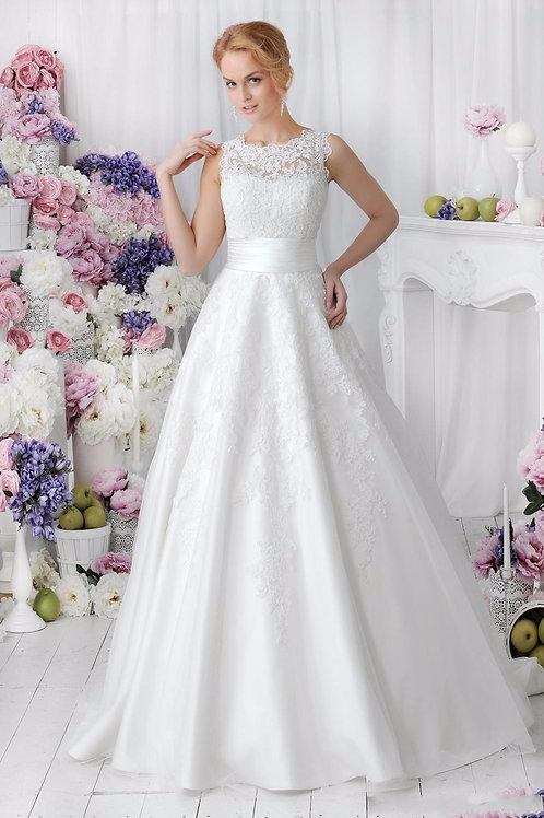 Vestido De Noiva Que Tira A Saia Organza