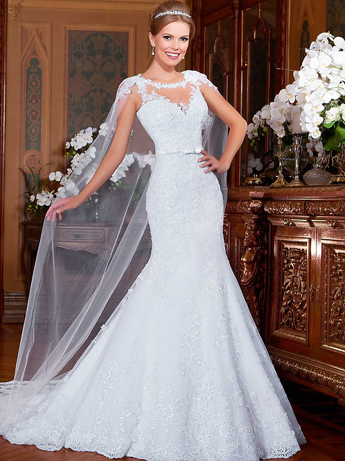 Vestido De Noiva Simplicidade Sereia