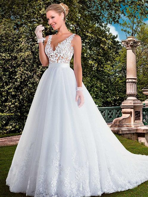Vestido De Noiva Roya Calda Longa