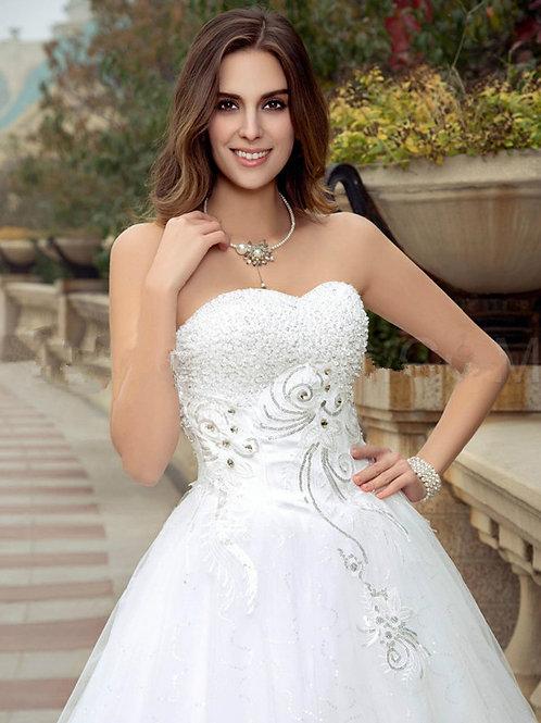 Vestido De Noiva Sofisticada Tomara Que Caia