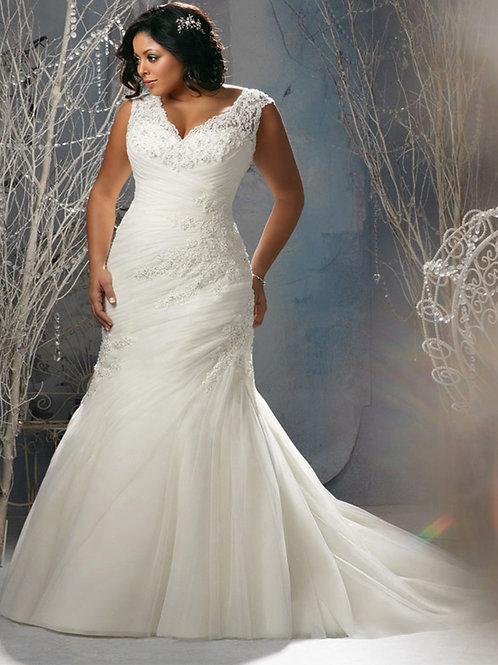 Vestido De Noiva Tentação Plus Size