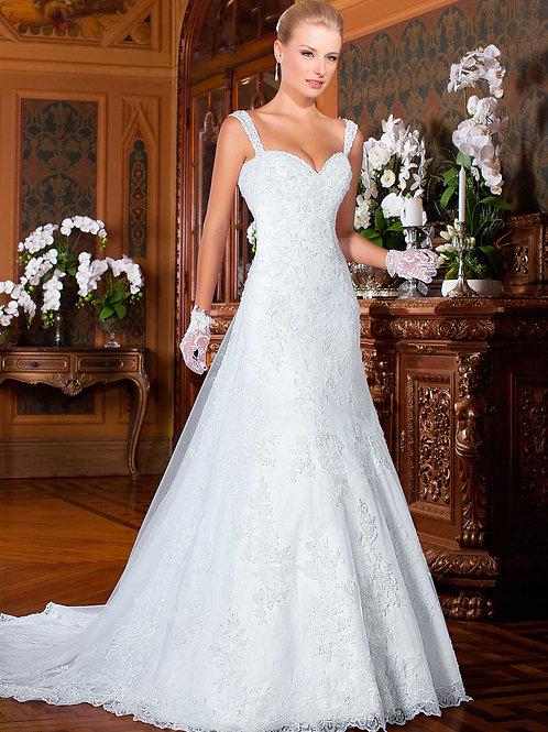 Vestido De Noiva Glória Sem Manga