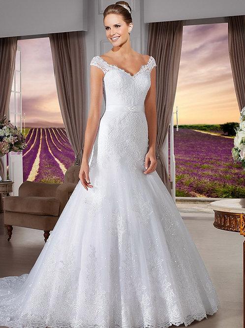 Vestido De Noiva Sereia Eficácia