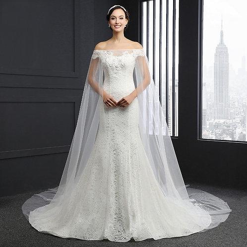 Vestido De Noiva Meia Sereia Honra
