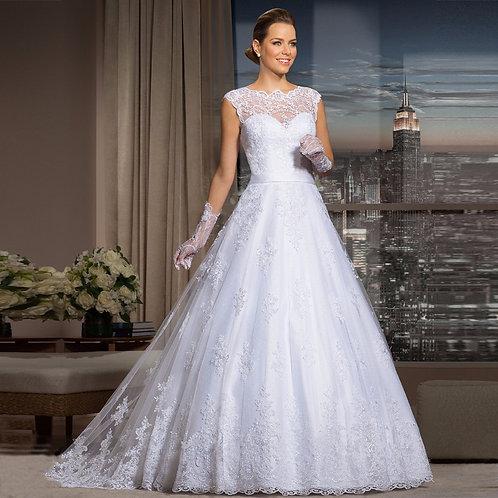 Vestido De Noiva Princesa Supreendente