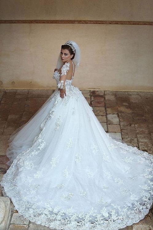 Vestido De Noiva Manga Longa Mestria