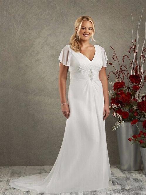 Vestido De Noiva Plus Size Astral