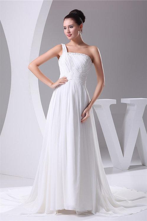 Vestido De Noiva Conveniente Tomara Que Caia Um Ombro Só