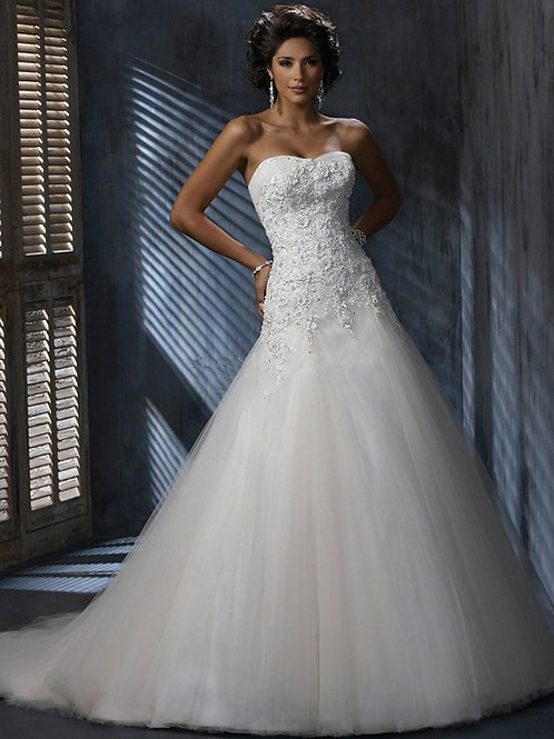 Vestido De Noiva Decidida Tomara Que Caia