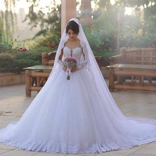 Vestido De Noiva Estilo Princesa Conquista