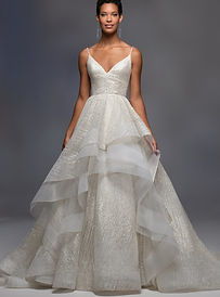 lazaro-spaghetti-strap-v-neckline-sparkle-layered-tulle-skirt-ball-gown-wedding-dress-3435