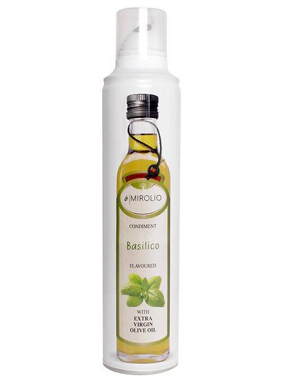Масло оливковое нерафинированное Extra Virgin Olive oil с базиликом