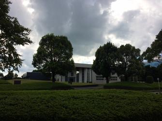 テクノリサーチパークから見た同仁グローカル建屋