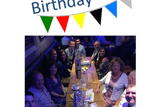 Happy 1st Birthday - Scenic Air Tours North East