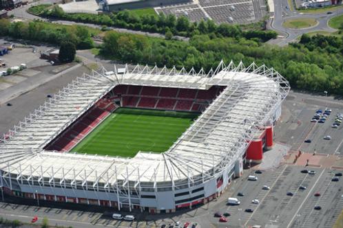 Middlesbrough Riverside Stadium - Flight Experience