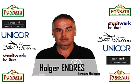 Holger Endres Werbung ESC Haßfurt e.V.
