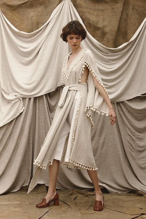 Kimono Midi Liso