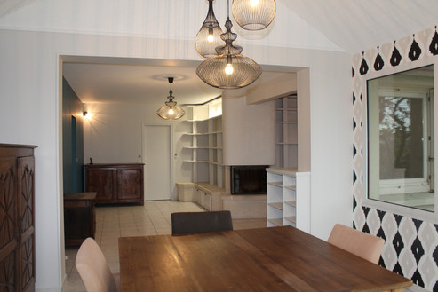 aménagement &décoration d'un salon/salle à manger