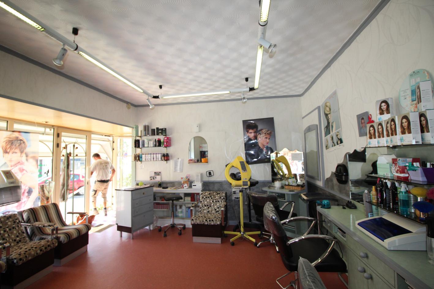 Salon de coiffure avant projet