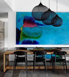 Pourquoi choisir un grand tableau coloré?