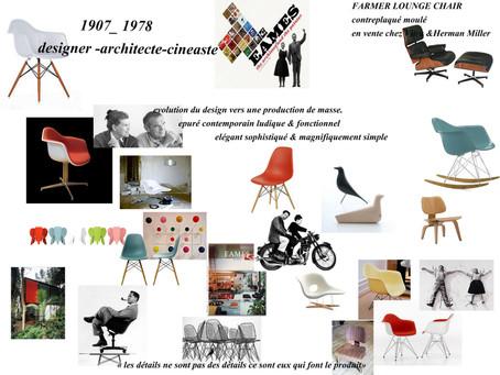 Mobilier d'aujourd'hui et designer d'hier, qui sont ils?