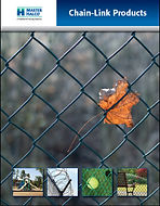 MasterHalco Chain Link Fencing. Economical, Secure, Versatile, Durable, Permafused Color, Galvanized, Residential, School, Commercial