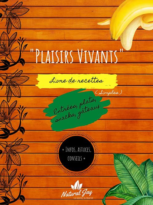 Livre - Plaisirs Vivants