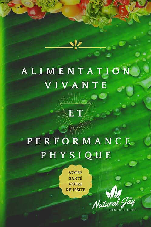 Livre - Alimentation Vivante et Performance Physique