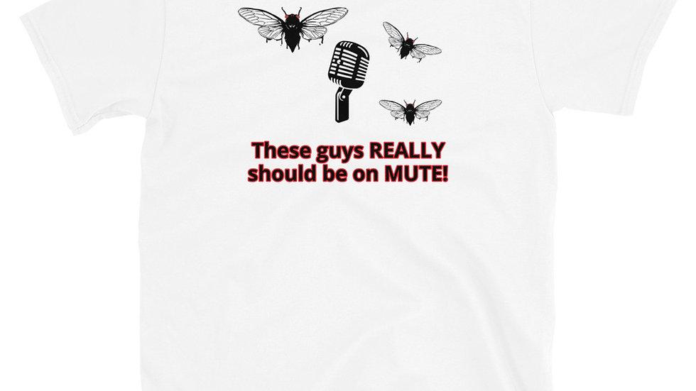 Should Be On Mute_Short-Sleeve Unisex T-Shirt