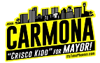 Carmona For Mayor Black Yellow.png