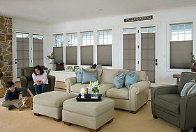 Honeycomb Cellular Shades At The Blind Man in Tucson, AZ