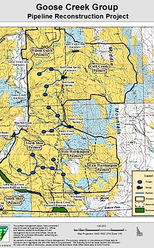 2016 Goose Creek Allotment