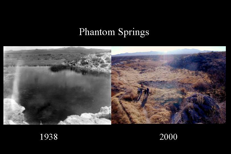 Phantom Lake Cienega_1938 and 2000 pic_Balmorhea Springs Complex