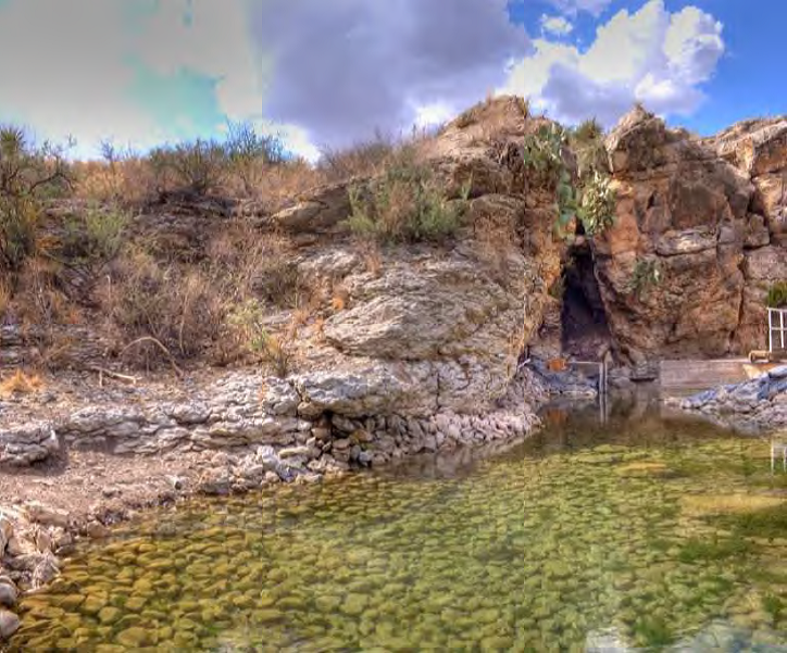 Phantom Lake Spring after restoration_Balmorhea Springs Complex