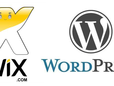 Wix vs Wordpress (EN)